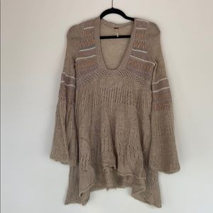 Free People Sweater Tunic